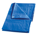 Regular-Duty Tarp 15' x 30' Blue-CWC 070662