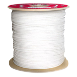Sash Cord Size #4 1/8 in. x 3000 ft. White-CWC 124002