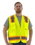 ANSI Class 2 Surveyor-Yellow Safety Vests