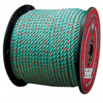 California Truck Rope 3/8 in. x 600 ft. Teal W/Orange Tracer-CWC 405405